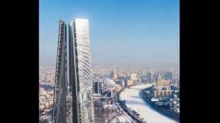 """Башня """"Россия"""" - километровый небоскреб в центре Москвы"""