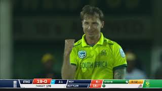 Highlights from the 1st T20 between South Africa and England at Buffalo Park in East London