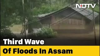 Heavy Rain In Assam, State Faces Third Wave Of Floods This Year - Download this Video in MP3, M4A, WEBM, MP4, 3GP