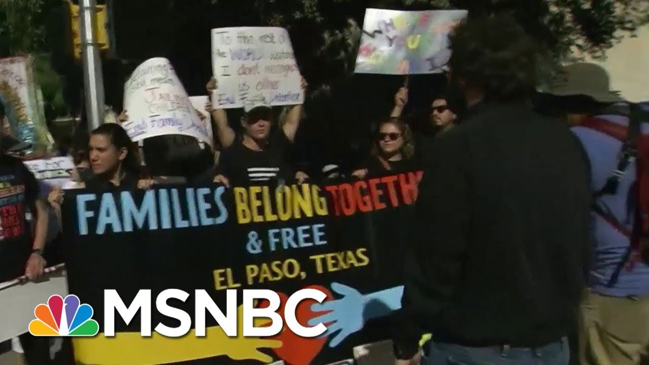 'Families Belong Together' Rallies Underway Across Country   AM Joy   MSNBC thumbnail