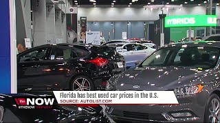 Florida is cheapest place to buy used cars in U.S., study says