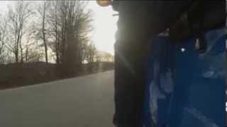 preview picture of video 'Simson Schwalbe KR51/1: Fahrt durch den Hohwald bei Neustadt in Sachsen'