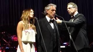 """Canto Della Terra"" - Andrea Bocelli with Katherine McPhee (duet)"