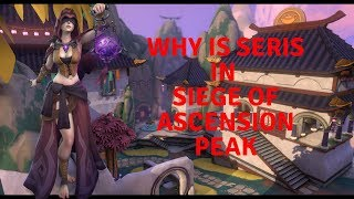 Paladins LORE THEORY: Why is Seris in Ascension Peak Event and how is she connected to new Smite Map