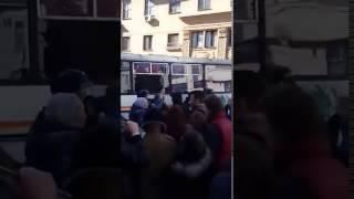 Навальный в автозаке