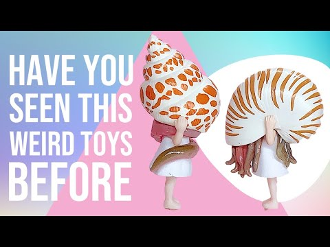 HAVE YOU SEEN THESE WEIRD TOYS BEFORE??? | Unboxing Weird Miniature toys | BULLDOGMAMA TV