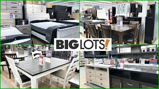 BIG LOTS FURNITURE BEDROOM and DINING ROOM SETS SHOP WITH ME 2021