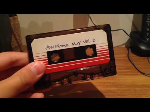 Awesome Mix Vol.2 Cassette [Guardians Of The Galaxy Original Motion Picture Soundtrack] Review