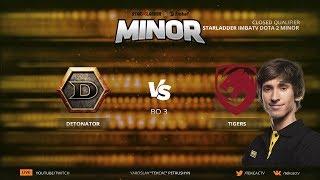 [RU] Tigers.Dendi vs DeToNator | bo3 | StarLadder ImbaTV Dota 2 Minor by @Tekcac