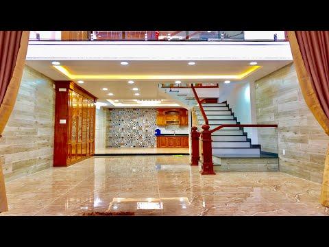 NHÀ BÁN TÂN BÌNH| 5M X 16M Căn nhà thiết kế 4 lầu đẹp, thoáng nội thất Sang trọng