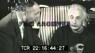 Albert Einstein (stock footage / archival footage)