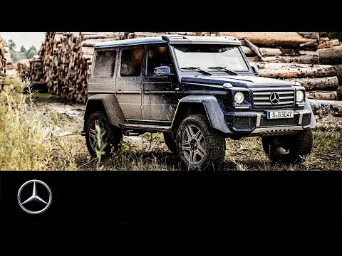 Mercedes-Benz G 500 4x4² Off-road Performance With JP Kraemer