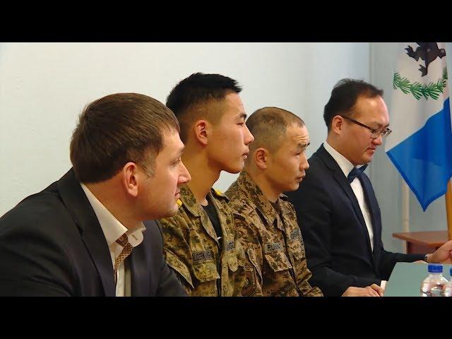 Мэр АГО встретился с монгольскими школьниками