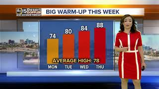Warming up this week in the Valley