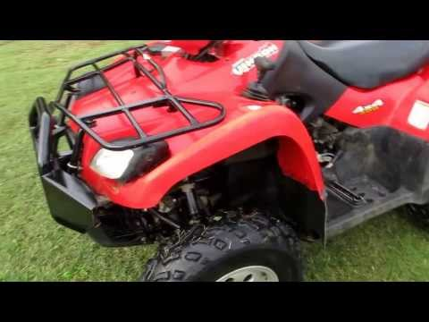 Suzuki Vinson 500 4x4, last year for the geat drive, no belts, one owner