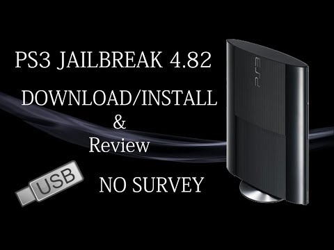 PS3 Jailbreak 4.82 Download and Install No Survey - USB CFW