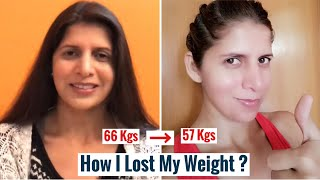 How I Lost My Weight | 12 Small Lifestyle Changes I Did To Lose Weight | Weight Loss Tips | Hindi
