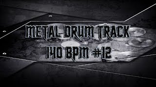 Aggressive Heavy Metal Drum Track 140 BPM (HQ,HD) | Preset 2.0