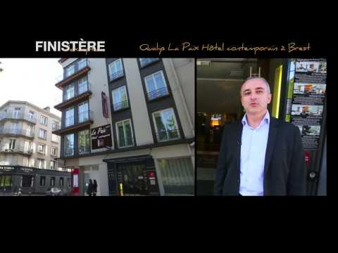 Qualys la Paix Hôtel contemporain**** à Brest