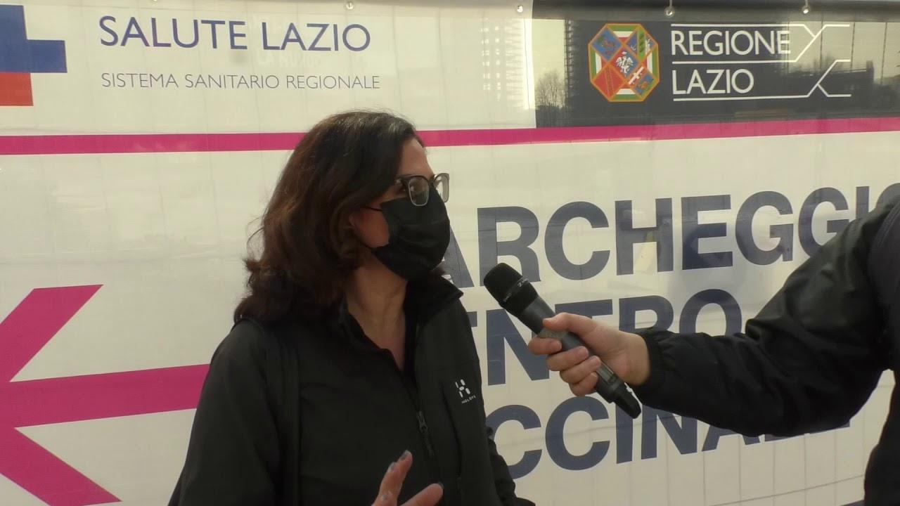 Vaccinazioni per i docenti nella Nuvola all'Eur di Roma