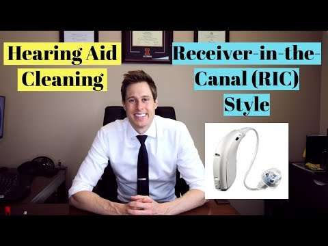 How to clean a Receiver-In-The-Canal (RIC) Hearing Aid – Applied Hearing Solutions