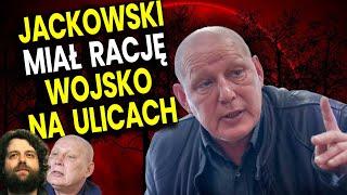Wojska Już Są Na Ulicach! Jasnowidz Jackowski MIAŁ RACJĘ u Atora – Przepowiednia Analiza Komentator