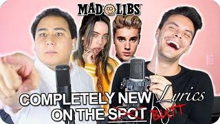 "Billie Eilish & Justin Bieber   ""Bad Guy"" MadLibs Cover (LIVE ONE TAKE)"