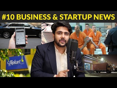 Business News #10 | Elephant Bonds,Flipkart ₹17,231Cr Loss,AI Prisons,Startups Exempt,Uber $1Bn Loss