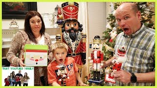 The Toy Collector Part 2 Treasure Hunt, Nutcrackers, Spy? / That YouTub3 Family I Family Channel