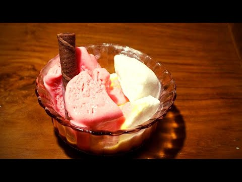 Video Resep cara membuat es krim lezat ( ice cream recipe )