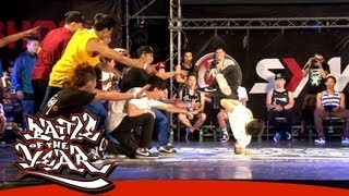 BOTY 2013 TAIWAN - PRELIMINARY - FINAL - KGB TC UNITY VS. THE FUTURE CREW [BOTY TV]