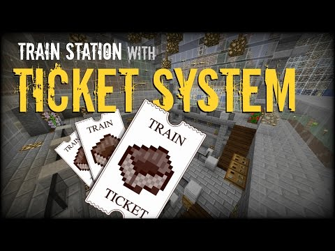 how to make an automatic train in minecraft