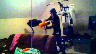 Mike And Scotts Nerf Gun Fight