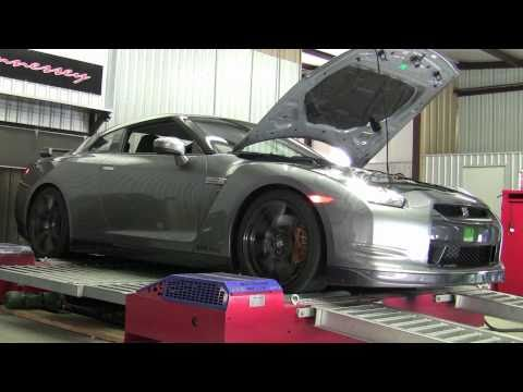 2011 Hennessey Nissan GTR800 Dyno Test Video