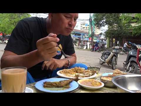 มิตจีนา 14: ข้าวหมกไก่ขั้นเทพ  กะฉิ่น eating Myitkyina street food  Kachin State  myanmar