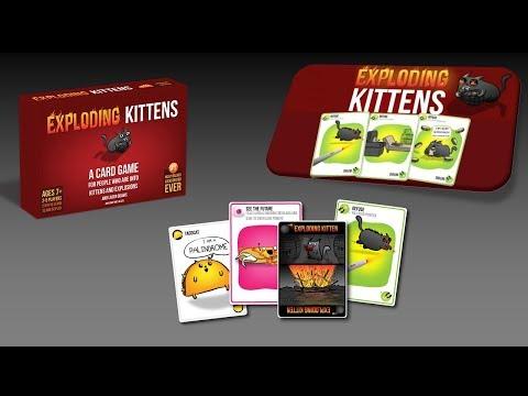 Exploding kittens  ( Robbanó cicák ) játékszabály - János György