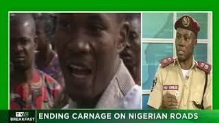 TVC Breakfast 18th January 2019    Ending Carnage on Nigerian roads