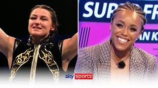 """""""She's not unbeatable!""""   Natasha Jonas on her fight with Katie Taylor on May 1st"""