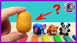 Урок лепки из пластилина для детей 5 лет - Видео онлайн