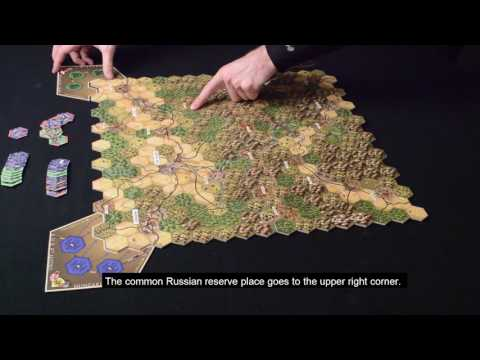 Heroes of Limanowa - Assembly of the playerboard