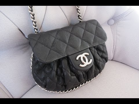 1 Purse – 7 Ways! Chanel Chain Around Purse