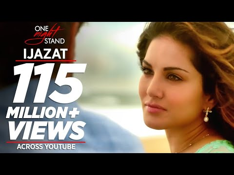 Download IJAZAT Video Song | ONE NIGHT STAND | Sunny Leone, Tanuj Virwani | Arijit Singh, Meet Bros |T-Series HD Mp4 3GP Video and MP3