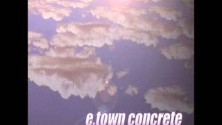 weak link- etown concrete