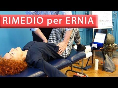 Ernia trattamento sacrale della colonna vertebrale
