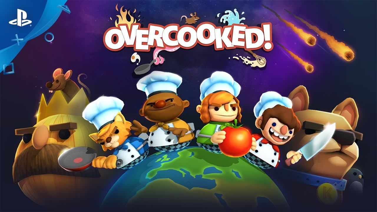 Chaotisches Koop-Kochspiel Overcooked für PS4 angekündigt