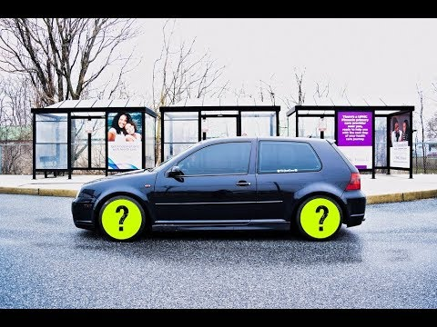 MK4 VW Golf R32 - New Wheels and Plans