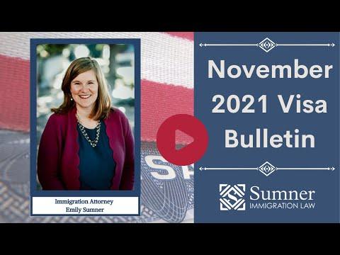 November 2021 Visa Bullet…
