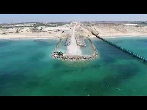 Γάζα: Θαλάσσιο τείχος χτίζει το Ισραήλ