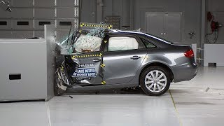 AUDİ A4 SMALL OVERLAP TEST VIDEO