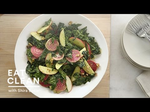 Tuscan Kale Salad with Raw Apples and Beets – Eat Clean with Shira Bocar